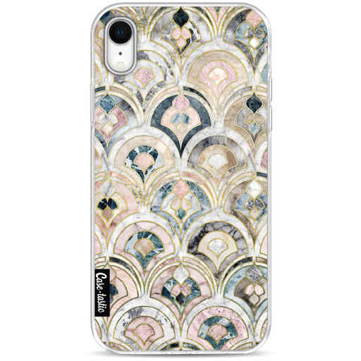 Casetastic Softcover Apple iPhone XR - Art Deco Marble Tiles