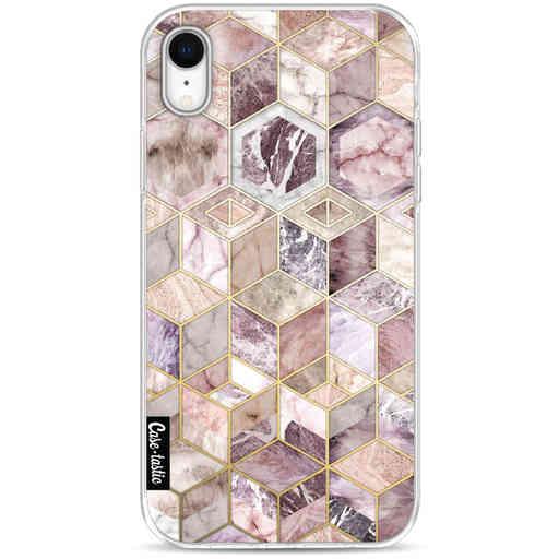 Casetastic Softcover Apple iPhone XR - Blush Quartz Honeycomb