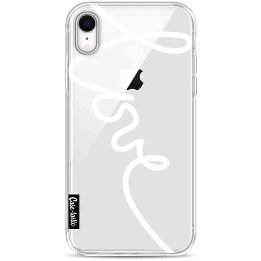 Casetastic Softcover Apple iPhone XR - Written Love White