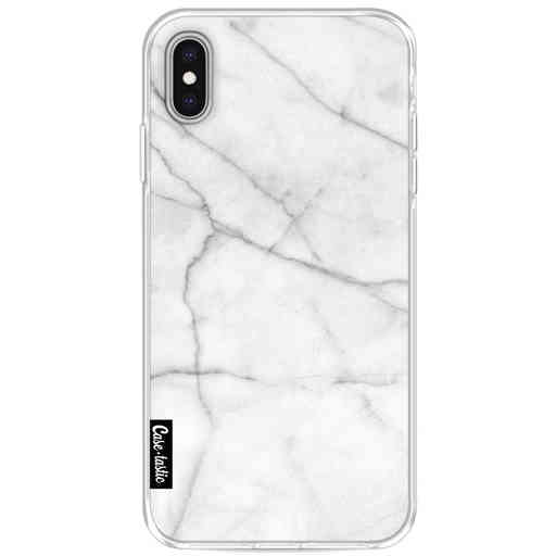 Casetastic Softcover Apple iPhone XS Max - White Marble