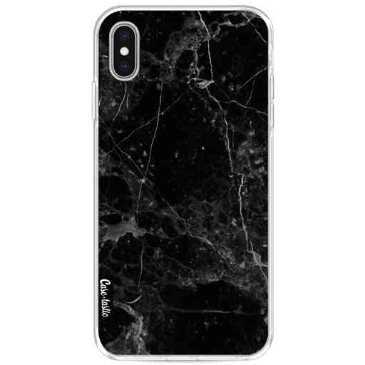 Casetastic Softcover Apple iPhone XS Max - Black Marble