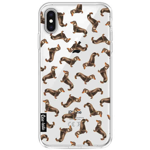 Casetastic Softcover Apple iPhone XS Max - Teckel Twister