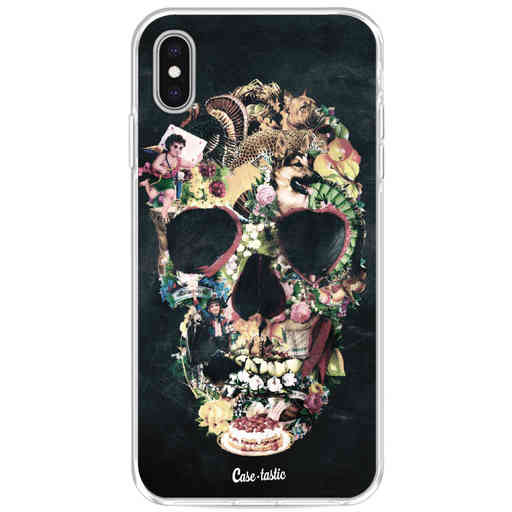 Casetastic Softcover Apple iPhone XS Max - Vintage Skull