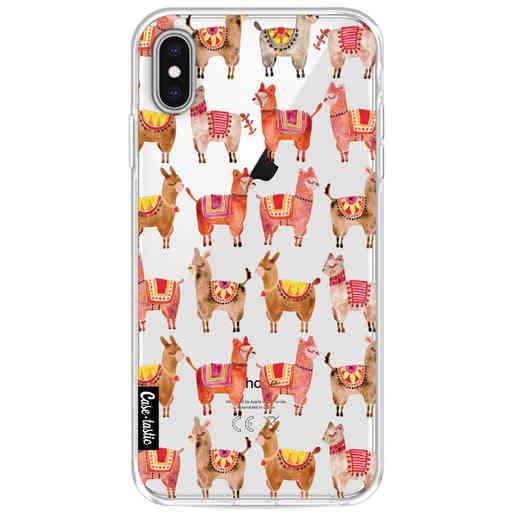 Casetastic Softcover Apple iPhone XS Max - Alpacas