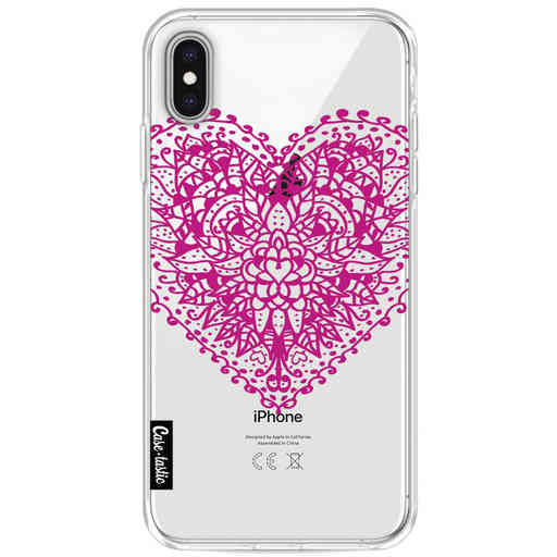 Casetastic Softcover Apple iPhone XS Max - Doodle Heart