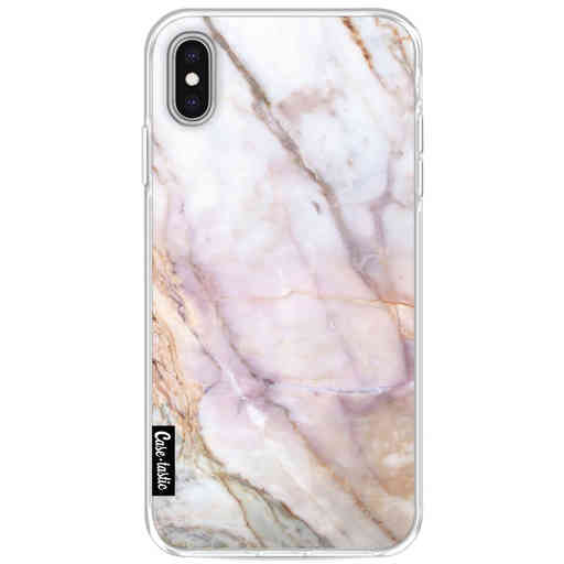 Casetastic Softcover Apple iPhone XS Max - Pink Marble