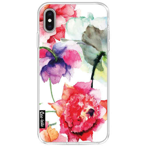 Casetastic Softcover Apple iPhone XS Max - Watercolor Flowers