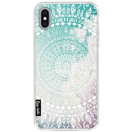 Casetastic Softcover Apple iPhone XS Max - Rainbow Mandala