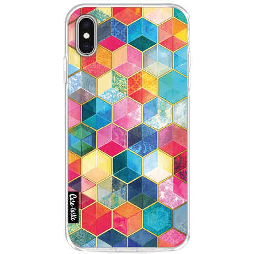 Casetastic Softcover Apple iPhone XS Max - Bohemian Honeycomb