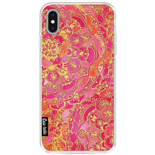 Casetastic Softcover Apple iPhone XS Max - Hot Pink Barroque