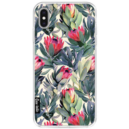 Casetastic Softcover Apple iPhone XS Max - Painted Protea