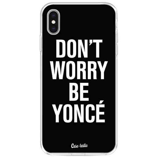 Casetastic Softcover Apple iPhone XS Max - Don't Worry Beyoncé