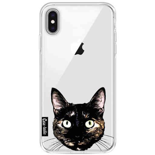 Casetastic Softcover Apple iPhone XS Max - Peeking Kitty