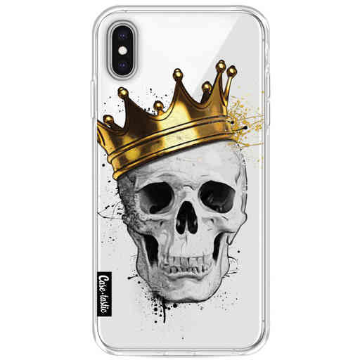 Casetastic Softcover Apple iPhone XS Max - Royal Skull