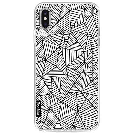 Casetastic Softcover Apple iPhone XS Max - Abstraction Lines