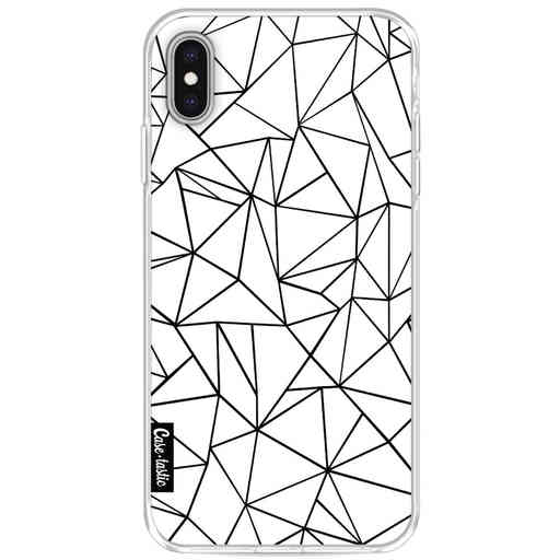 Casetastic Softcover Apple iPhone XS Max - Abstraction Outline