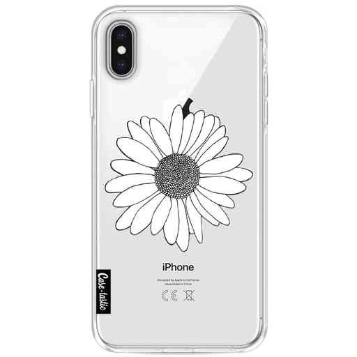Casetastic Softcover Apple iPhone XS Max - Daisy Transparent