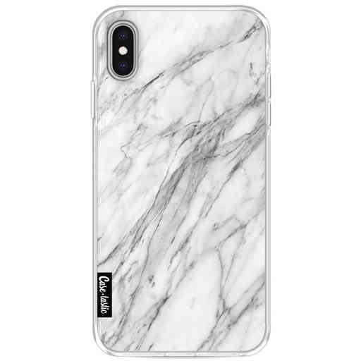 Casetastic Softcover Apple iPhone XS Max - Marble Contrast