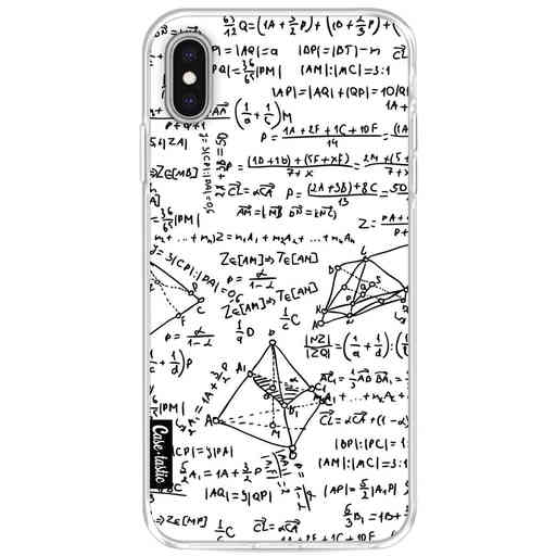 Casetastic Softcover Apple iPhone XS Max - You Do The Math White