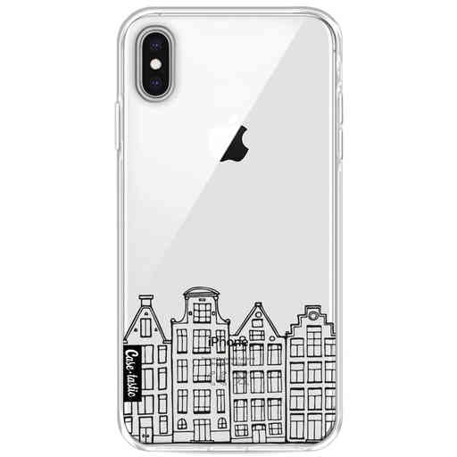 Casetastic Softcover Apple iPhone XS Max - Amsterdam Canal Houses