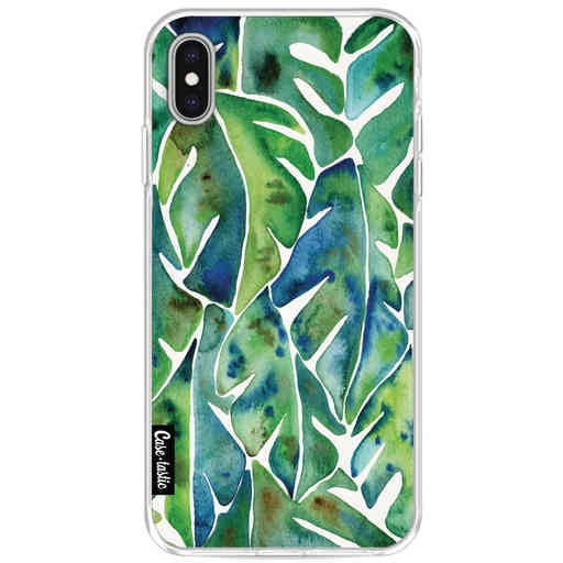 Casetastic Softcover Apple iPhone XS Max - Green Philodendron