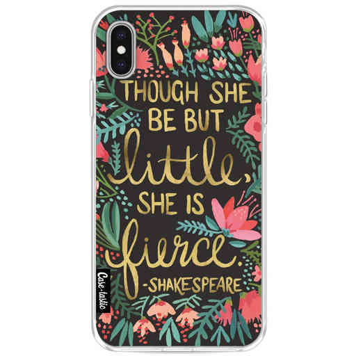 Casetastic Softcover Apple iPhone XS Max - Little Fierce Charcoal