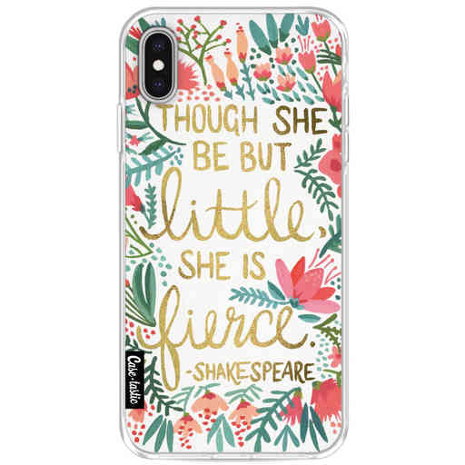 Casetastic Softcover Apple iPhone XS Max - Little Fierce White