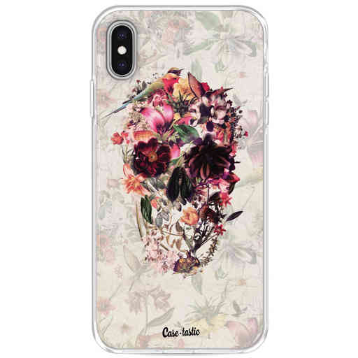 Casetastic Softcover Apple iPhone XS Max - Flower Skull