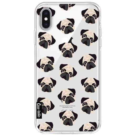 Casetastic Softcover Apple iPhone XS Max - Pug Trouble