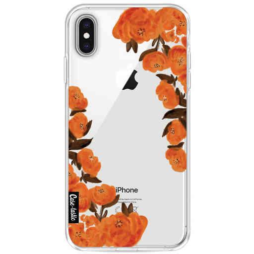 Casetastic Softcover Apple iPhone XS Max - Orange Autumn Flowers