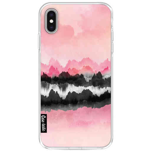 Casetastic Softcover Apple iPhone XS Max - Pink Mountains