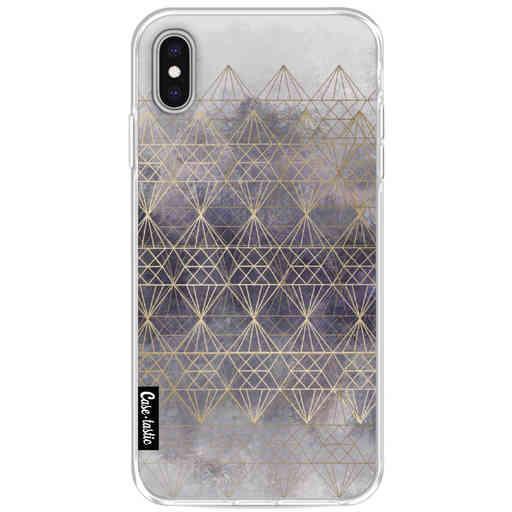 Casetastic Softcover Apple iPhone XS Max - Cold Diamonds