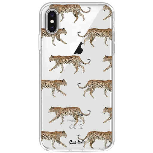 Casetastic Softcover Apple iPhone XS Max - Hunting Leopard