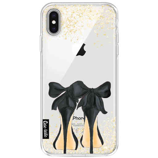 Casetastic Softcover Apple iPhone XS Max - Sparkling Shoes