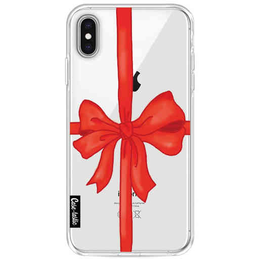Casetastic Softcover Apple iPhone XS Max - Christmas Ribbon