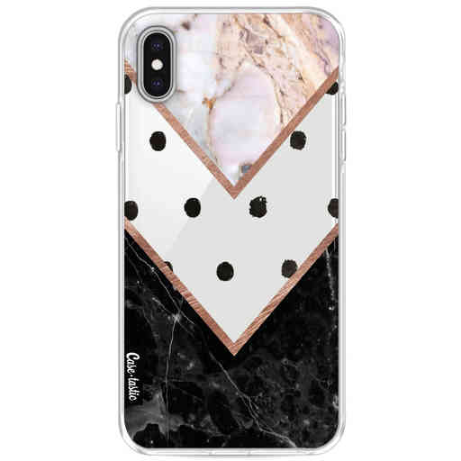 Casetastic Softcover Apple iPhone XS Max - Mix of Marbles