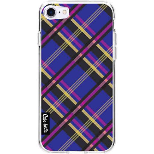 Casetastic Softcover Apple iPhone 7 / 8 / SE (2020) - Purple Tartan