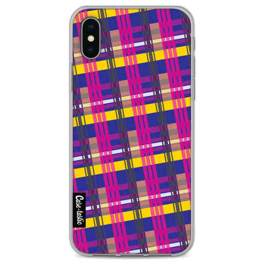 Casetastic Softcover Apple iPhone X / XS - Mixed Tartan