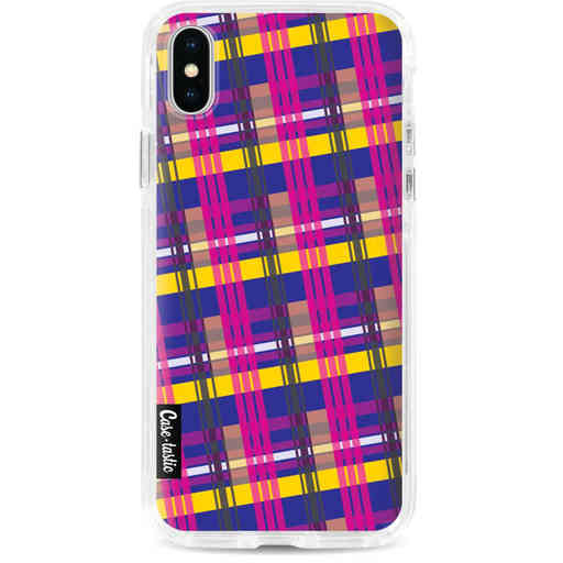 Casetastic Dual Snap Case Apple iPhone X / XS - Mixed Tartan