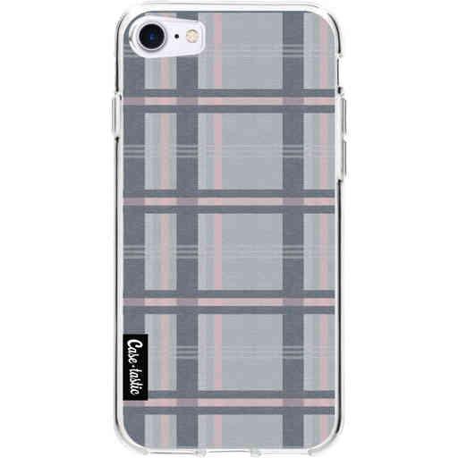 Casetastic Softcover Apple iPhone 7 / 8 / SE (2020) - Grey Tartan