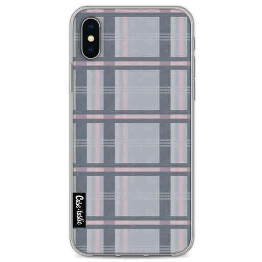 Casetastic Softcover Apple iPhone X / XS - Grey Tartan