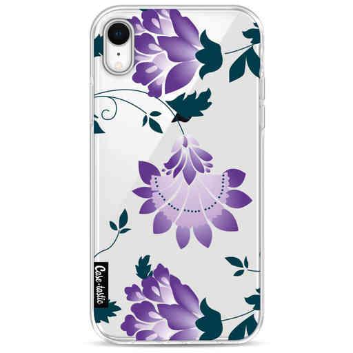 Casetastic Softcover Apple iPhone XR - Purple Dahlia Flower