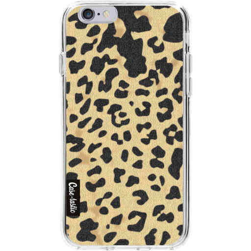 Casetastic Softcover Apple iPhone 6 / 6s - Leopard Print Sand