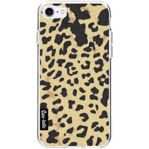 Casetastic Softcover Apple iPhone 7 / 8 / SE (2020) - Leopard Print Sand