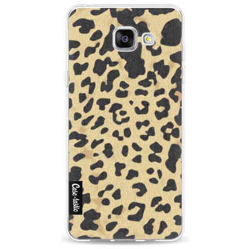 Casetastic Softcover Samsung Galaxy A5 (2016) - Leopard Print Sand