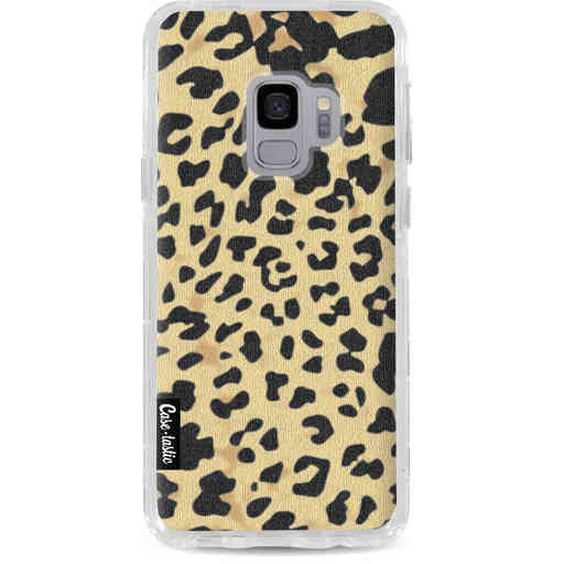 Casetastic Dual Snap Case Samsung Galaxy S9  - Leopard Print Sand
