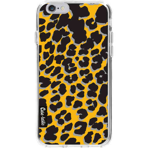 Casetastic Softcover Apple iPhone 6 / 6s - Leopard Print Yellow