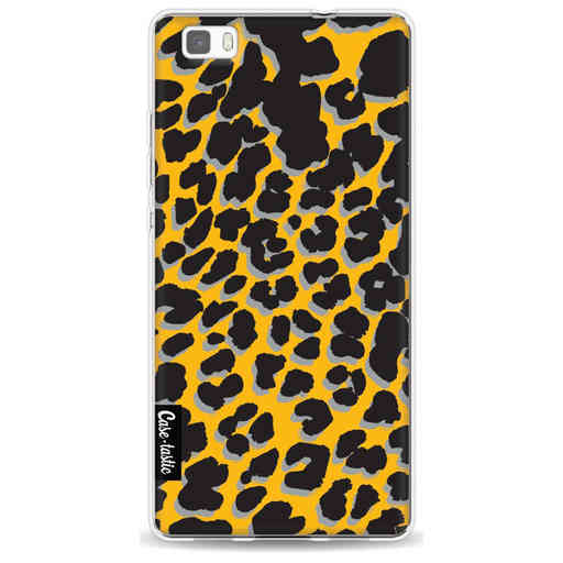Casetastic Softcover Huawei P8 Lite (2015) - Leopard Print Yellow