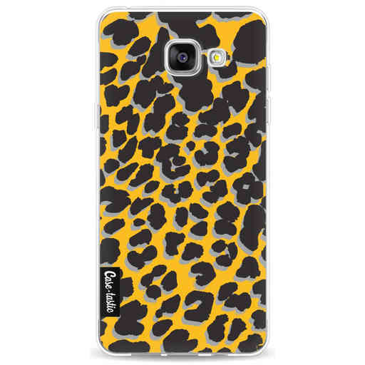 Casetastic Softcover Samsung Galaxy A5 (2016) - Leopard Print Yellow