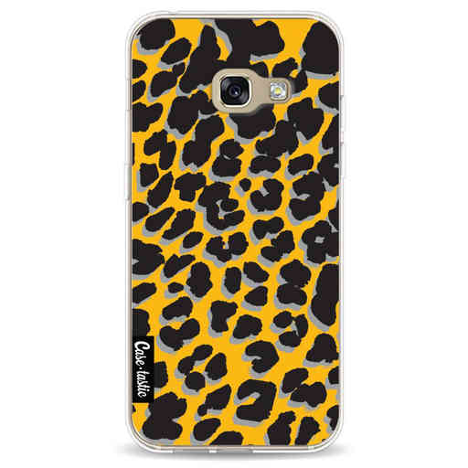 Casetastic Softcover Samsung Galaxy A3 (2017)  - Leopard Print Yellow